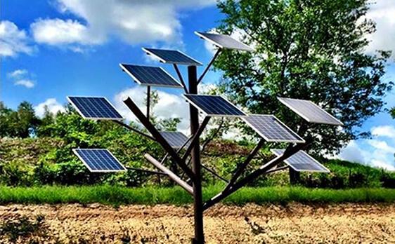 Arbol Fotovoltaico Gestión Solar