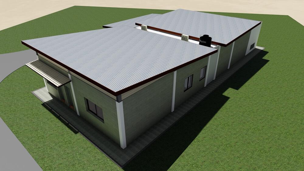 Diseño Edificios De Operación Y Mantenimiento, Los Prados