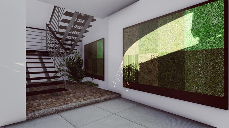 Diseño Plaza Comercial Tribeca