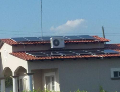 Sistema de autoproducción solar fotovoltaico residencia