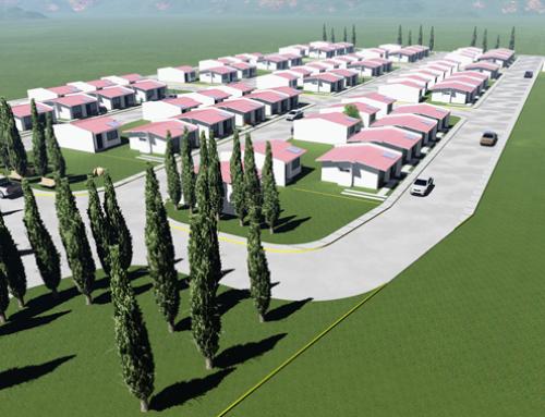 Diseño, modelado y renderizado de urbanización Sanchez & Sanchez