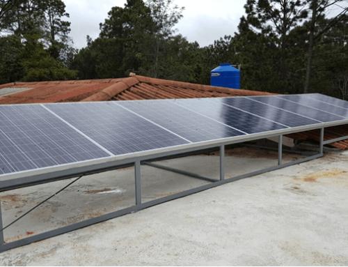 Sistema de autoproducción solar fotovoltaico
