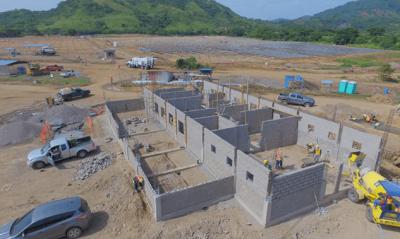 Construcción de tres edificios Scated Solar Grupo Proteger - Mini
