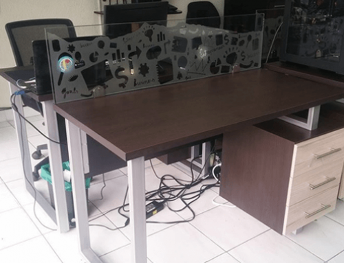Fabricación e instalación de escritorios modulares Andes Development